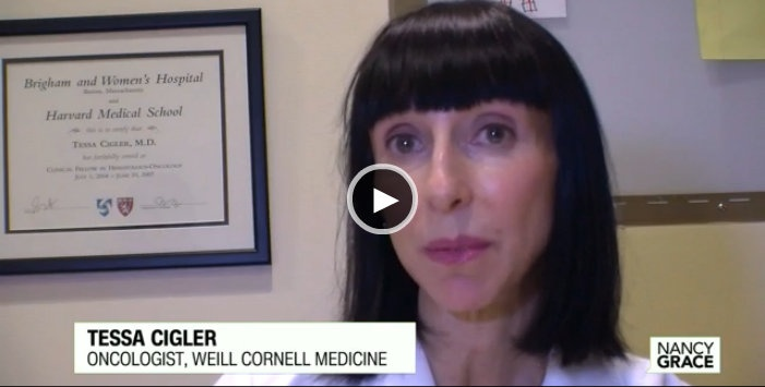Tessa Cigler, M.D., discusses cold cap treatment to prevent hair loss during chemotherapy for breast cancer