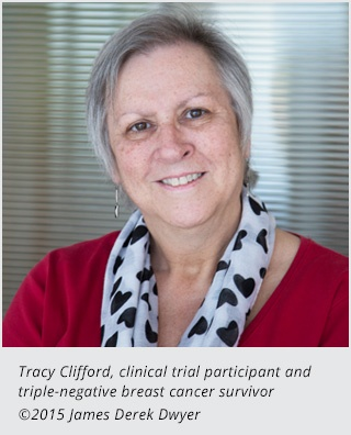 Photo of patient Tracy Clifford