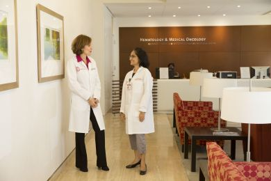Innovation from Weill Cornell Medicine scientists + the best medical care from NewYork-Presbyterian doctors puts Meyer Cancer Center first in NYC cancer care