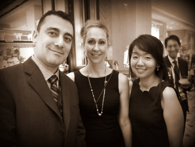 Photo of fellows at reception