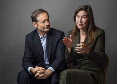 Lewis Cantley, Ph.D., and Kristy Richards, M.D., Ph.D. are collaborating to combat cancer at Cornell and Weill Cornell Medicine