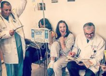 Broadway actress Karen Walsh got creative during treatment for colon cancer at Weill Cornell Medicine