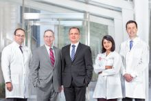 Leaders of the Englander Institute of Precision Medicine at Weill Cornell Medical College