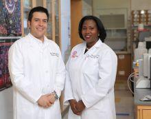 Dr. Eloise Chapman-Davis and Dr. Juan R. Cubillos-Ruiz