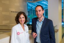 Dr. Gail Roboz and Dr. Duane Hassane