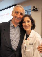 Ralph Hills and Gail Roboz, M.D.