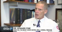 Howard Fine, M.D., is creating 'mini brains' in his lab at Meyer Cancer Center
