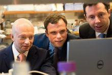 Igor Tulchinsky, Dr. Christopher Mason and Dr. Olivier Elemento
