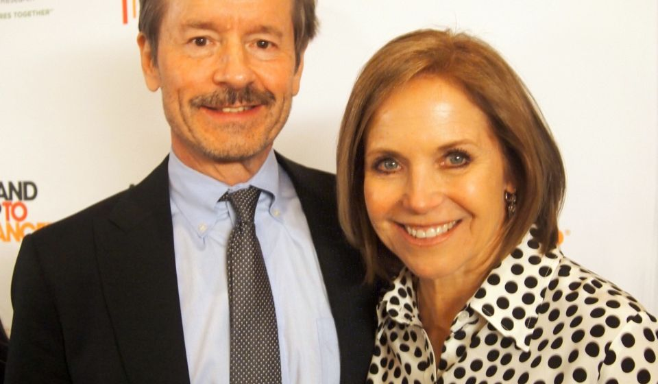 Lew Cantley with Katie Couric